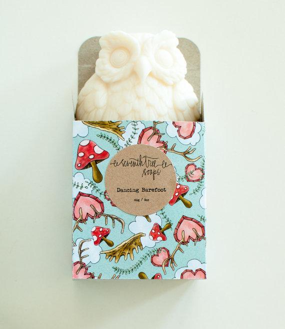 patchouli owl soap