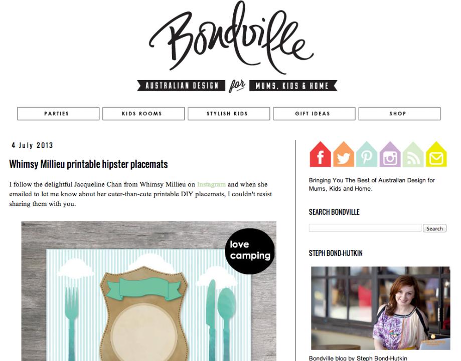 whimsy milieu feature bondville