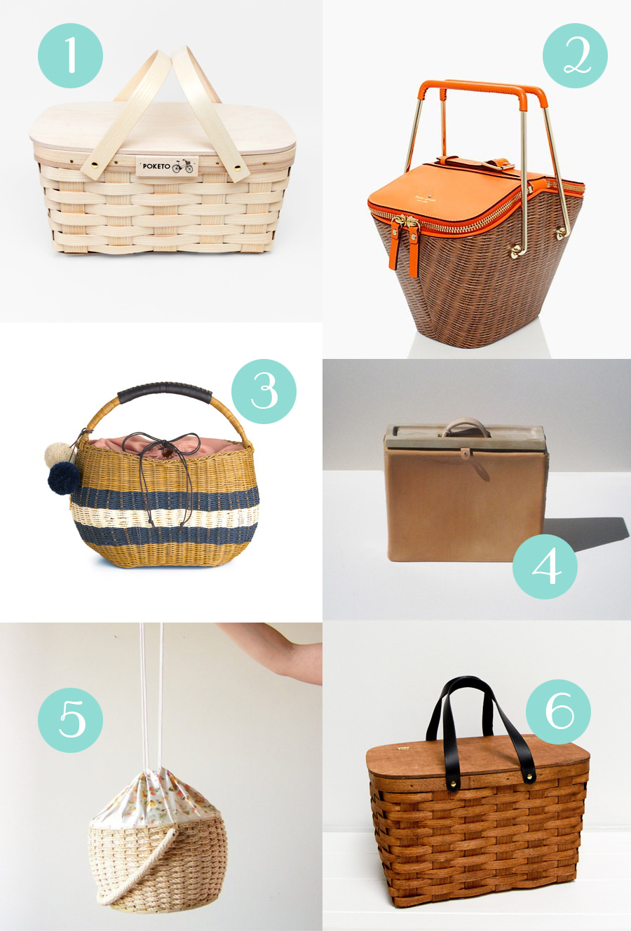 picnic baskets Whimsy Milieu