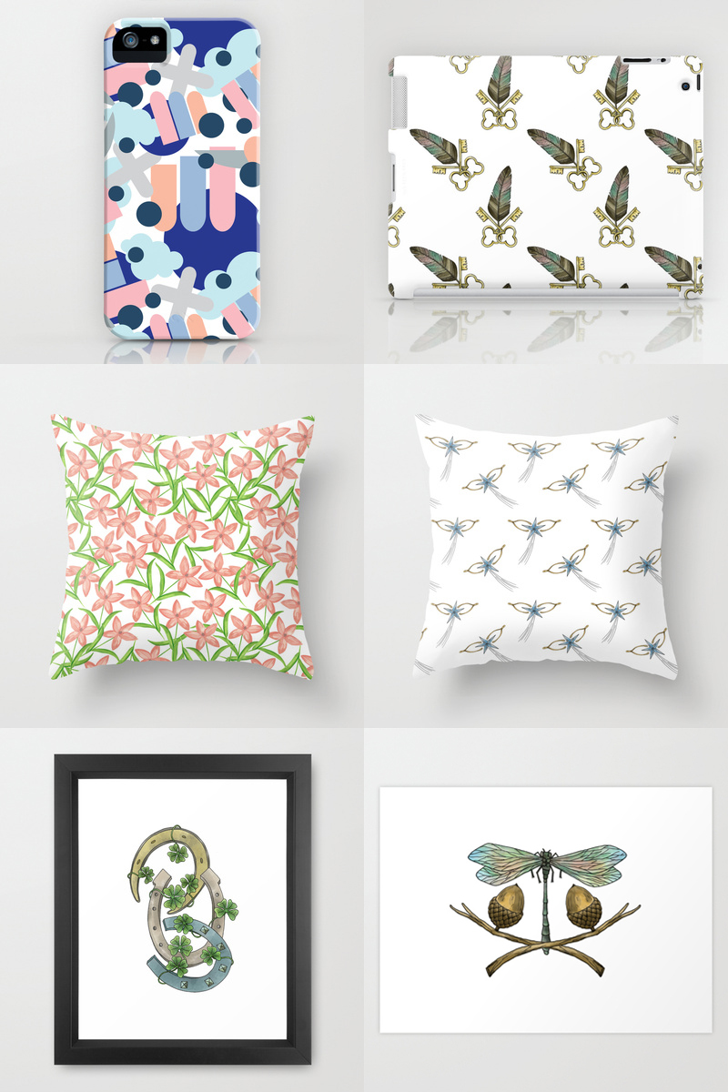Whimsy Milieu on Society6