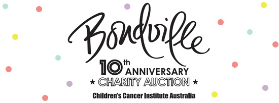 Bondville 10th Anniversary Charity Auction