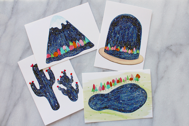 Whimsy Milieu postcards