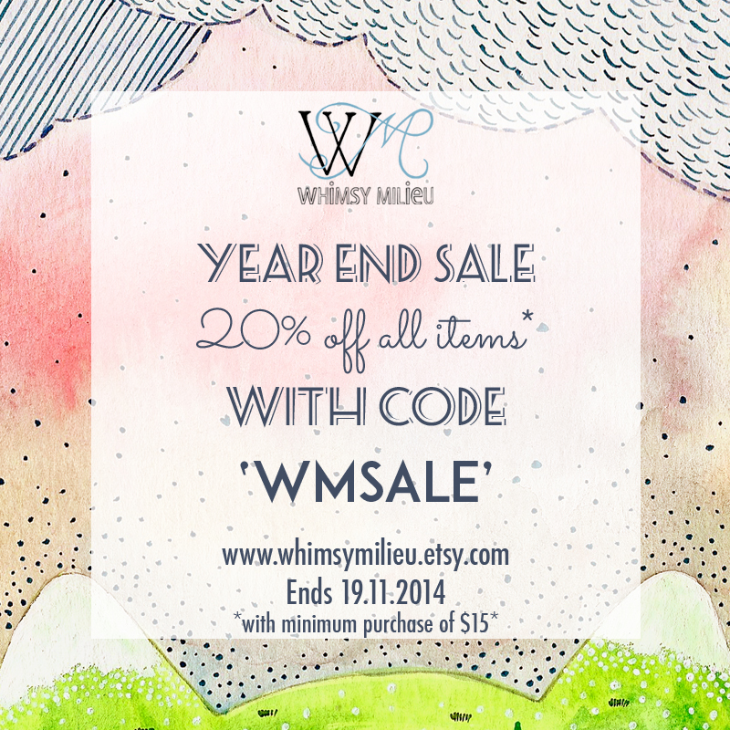 whimsy milieu sale