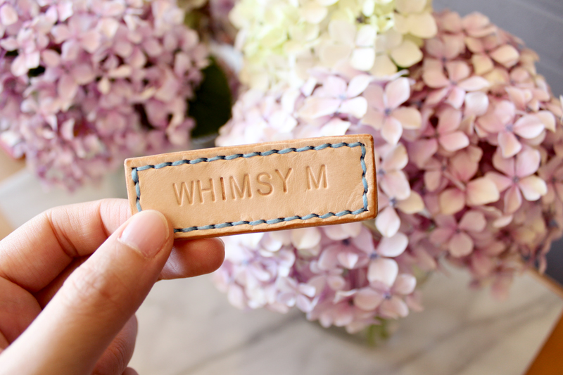 Leather badge by Whimsy Milieu