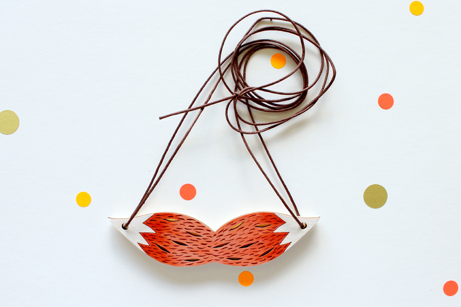 Foxtail Necklace by Whimsy Milieu